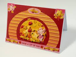 weezepoel winnie pooh autumn card