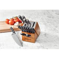 calphalon classic self sharpening 15 piece cutlery set walmart com