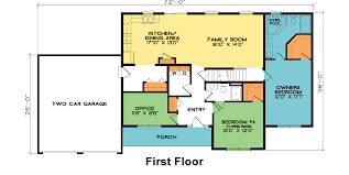 family home plan oakridge fine line homes