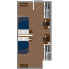 dorm room arrangement oakland hall housing west virginia university