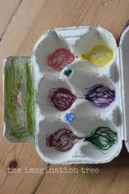 How To Get A Paint Chip For Color Matching Egg Carton Colour Sorting The Imagination Tree