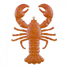 5 tin crawfish lobster ornament ms1363 craftoutlet