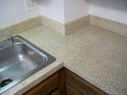 kitchen white baseboard design with granite countertop