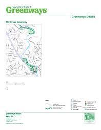 Garden State Parkway Map Nashville U003e Parks And Recreation U003e Greenways And Trails U003e Maps