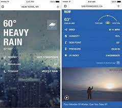the weather channel u0027 app for iphone gains revamped design 3d