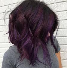 weave hairstyles with purple tips dk brown purple burgundy hair pinterest brown hair coloring