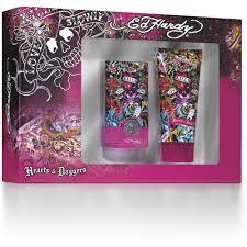 ed hardy hearts u0026 daggers gift set for women 2 pc walmart com