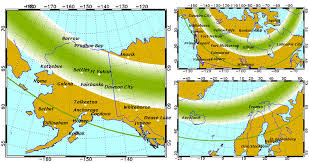 northern lights location map your complete guide to northern lights where when how scarlet