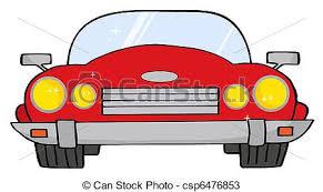 cartoon convertible car red convertible car cartoon convertible car vectors search clip