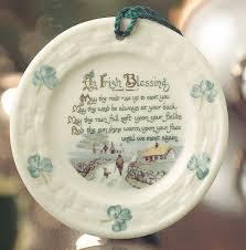 irish christmas ornaments of belleek porcelain