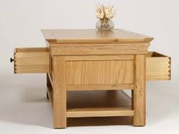 Open Coffee Table Oak Coffee Table Oak Coffee Table With Drawers Open Glass