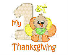 my 1st thanksgiving appliquetion station fall thanksgiving machine embroidery designs