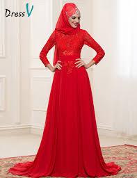 muslim wedding dress aliexpress buy chiffon sleeves muslim wedding