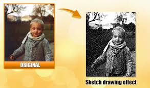 online sketch drawing effect on a picture convertimage