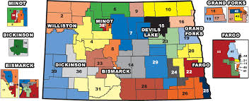 Colorado House District Map by Citizenship North Dakota Studies