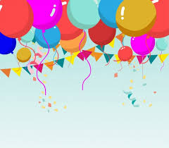 party balloons pink party balloons background free vector in adobe illustrator ai