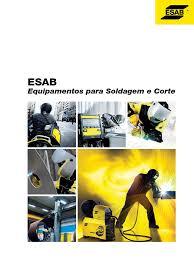 catalogo equipamentos esab