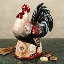 rooster kitchen canisters 224 best rooster cookie jars images on rooster decor