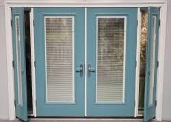 Doors With Internal Blinds Single Hand Operation Blinds From Therma Tru Window U0026 Door