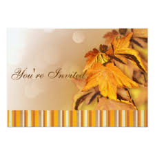 thanksgiving day invitations announcements zazzle