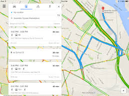 Primary Map Offline Mapping Navigation Improvements Highlight Google Maps
