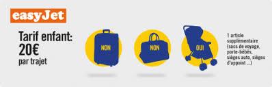 siege easyjet conditions des bagages enfants selon la compagnie aérienne