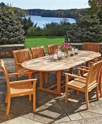 Teak Patio Furniture Teak Outdoor Furniture From Walpole Woodworkers