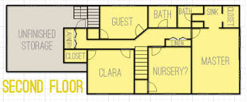up house floor plan drawing up floor plans dreaming about changes young house love