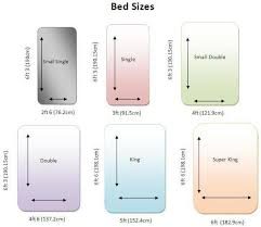 Sofa Bed Dimensions King Size Bed Dimensions Decor References