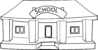 Coloring Page Of A School School Coloring Page Funycoloring by Coloring Page Of A School