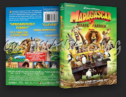madagascar 2 escape 2 africa dvd cover dvd covers u0026 labels