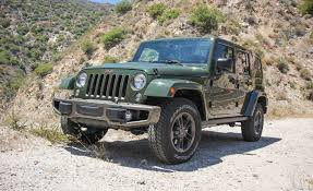 old white jeep wrangler 2016 jeep wrangler unlimited test u2013 review u2013 car and driver