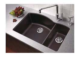 modern undermount kitchen sinks faucet com 440179 in anthracite by blanco