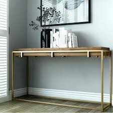 wood and metal console table wood and metal console table gallery of newcastle givgiv
