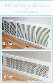 Goods Home Design Diy by The Friendly Home A Better Looking Return Air Grille What A Good