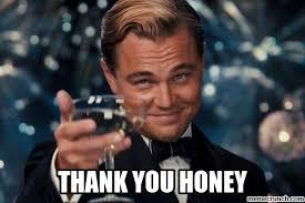 Meme Thank You - you honey