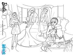 barbie clothing store coloring pages hellokids