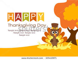 retro thanksgiving background illustration free vector