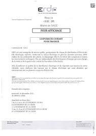 edf bureau edf avis coupure d électricité le 16 décembre 2015 commune de sacé