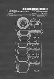 measuring cups patent kitchen decor restaurant decor patent