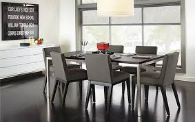 Modern Dining Room Chairs Intended Decorating Ideas - Grey dining room furniture