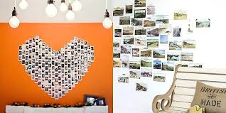 how to hang photo frames on wall without nails impressive hanging pictures without frames creative ways to hang