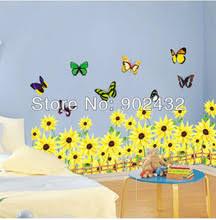 Sunflower Home Decor Sunflower Wall Decal Promotion Shop For Promotional Sunflower Wall