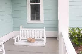 borrowed heaven diy porch swing