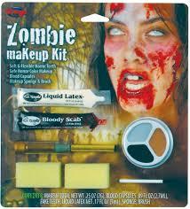 zombie halloween makeup kits horror character kit assortment halloween