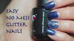 do easy glitter gel nails at home couture gel nail polish