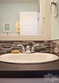 Dark Gray Bathroom Vanity by Yellow Aqua And Gray Kids Bathroom 2 714x1000jpg Yellow And Gray