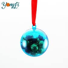 60mm clear plastic ornaments 60mm clear plastic