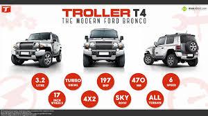 troller t4 suv u2013 the modern ford bronco tech pinterest ford
