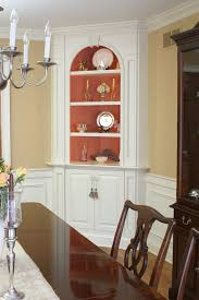 Dining Room Glass Cabinets by Corner Dining Room Cabinet Provisionsdining Com